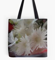 abstract of Chrysanthemums Tote Bag