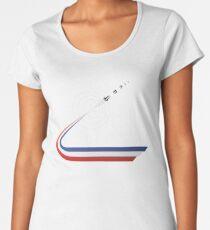 GO APOLLO, GO! We choose to go to the Moon... Women's Premium T-Shirt