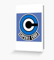 Capsule corp. Greeting Card
