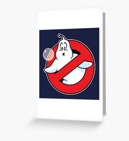 Bubblebusters Greeting Card