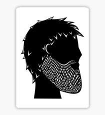 Diamond beard Sticker