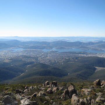 Mt Wellington View by pierredubrelle