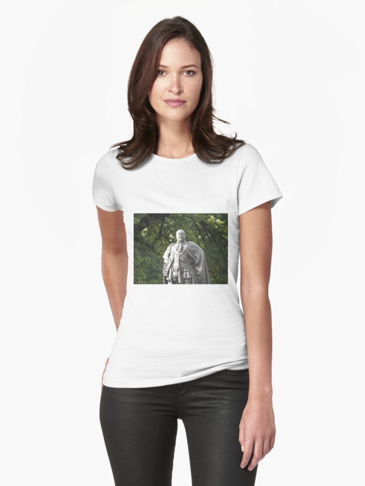 King Edward VII Monument Womens T-Shirt Front