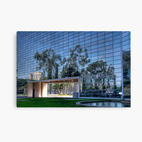 Crystal Church Canvas Print