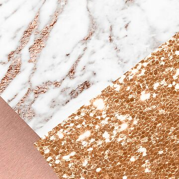 Layered rose gold by peggieprints