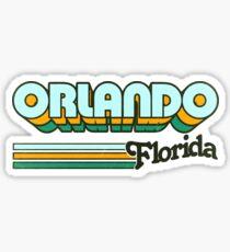 Orlando, FL | City Stripes Sticker
