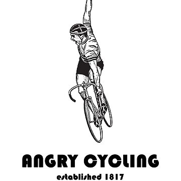 Angry Cycling - Vintage Design by BavApparel