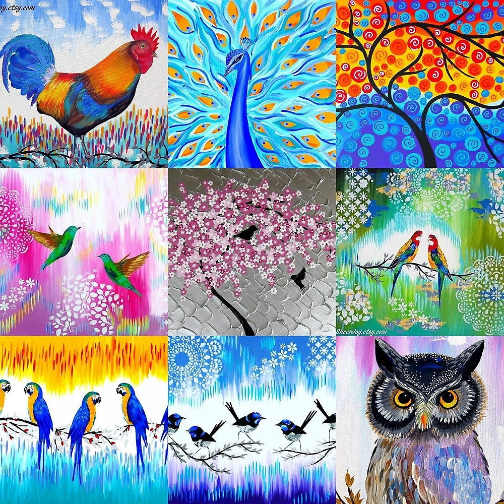 Collage of Colours by cathyjacobs