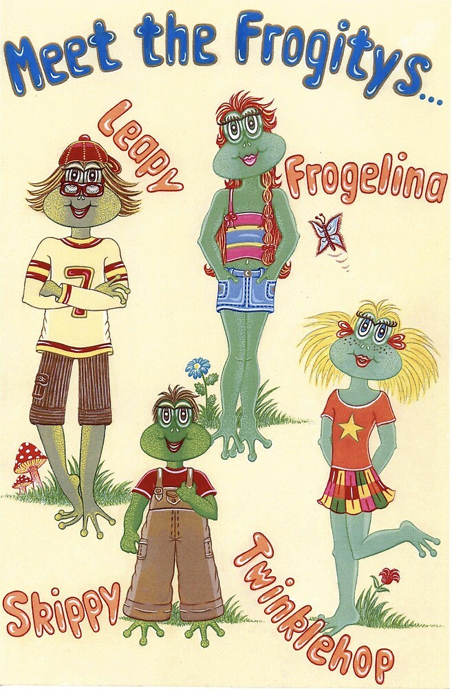 Meet The Frogitys by MireilleViot