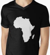 AFRICA RULES Men's V-Neck T-Shirt