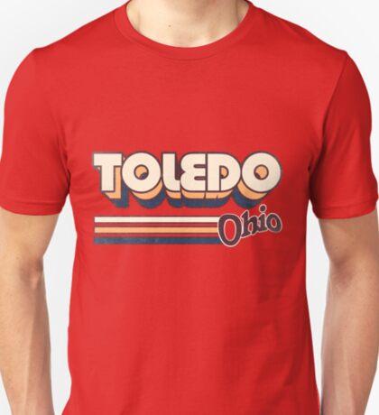 Toledo, OH   City Stripes T-Shirt
