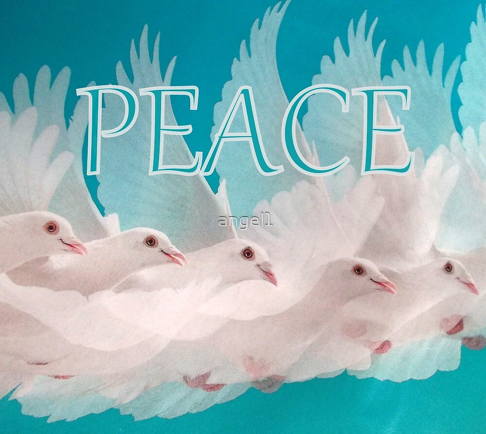 PEACE doves by ©The Creative  Minds