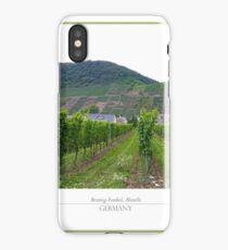 Green summer vineyard  iPhone Case