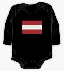 Austria flag One Piece - Long Sleeve