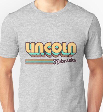 Lincoln, NE   City Stripes T-Shirt
