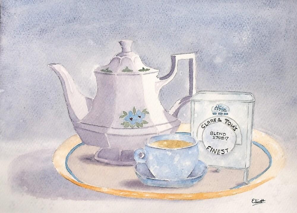 Wedding Breakfast by Pat  Elliott