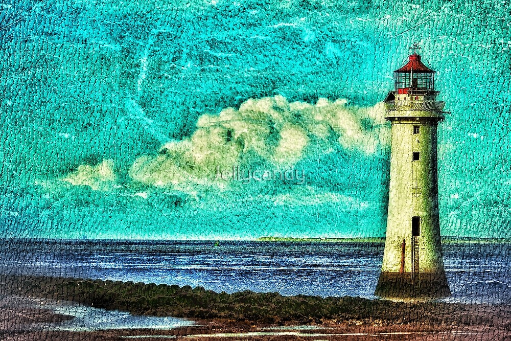 New Brighton Lighthouse by Jellycandy