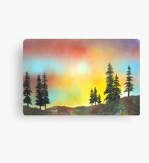 Mountain Morning in the High Sierra Canvas Print