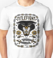 Title Fight - Panther Unisex T-Shirt