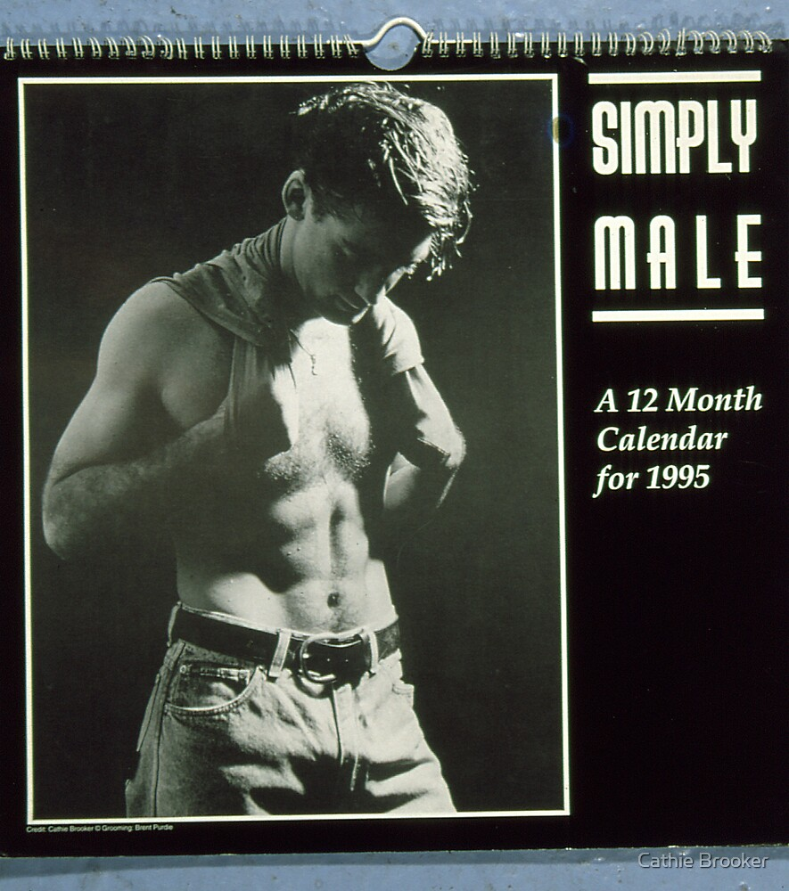 Simply Male Calender 1995 by Cathie Brooker