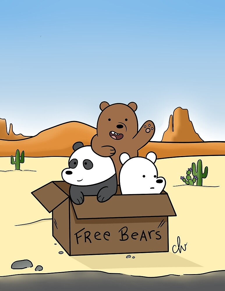 We Bare Bear fanart by cutelittlevixen