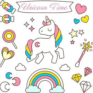 Unicorn Time by byruit