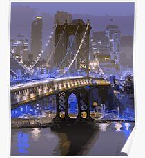 Lights of New York City  Poster