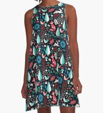 Electric Forest A-Line Dress