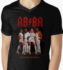 ABBA Rock Shirt - Let There Be Disco T-Shirt