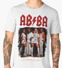 ABBA Rock Shirt - Let There Be Disco Men's Premium T-Shirt