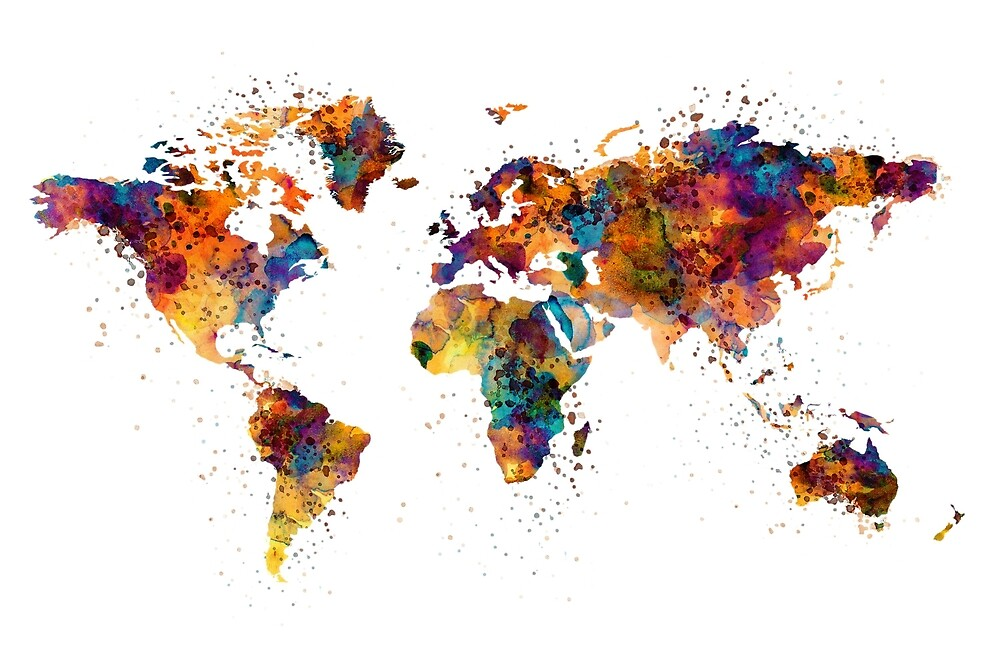 World Map by Marian  Voicu
