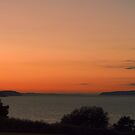 The Glow Of A Puget Sound Sunset by Kat Miller