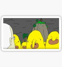TBL Yellow Things Sticker Sticker