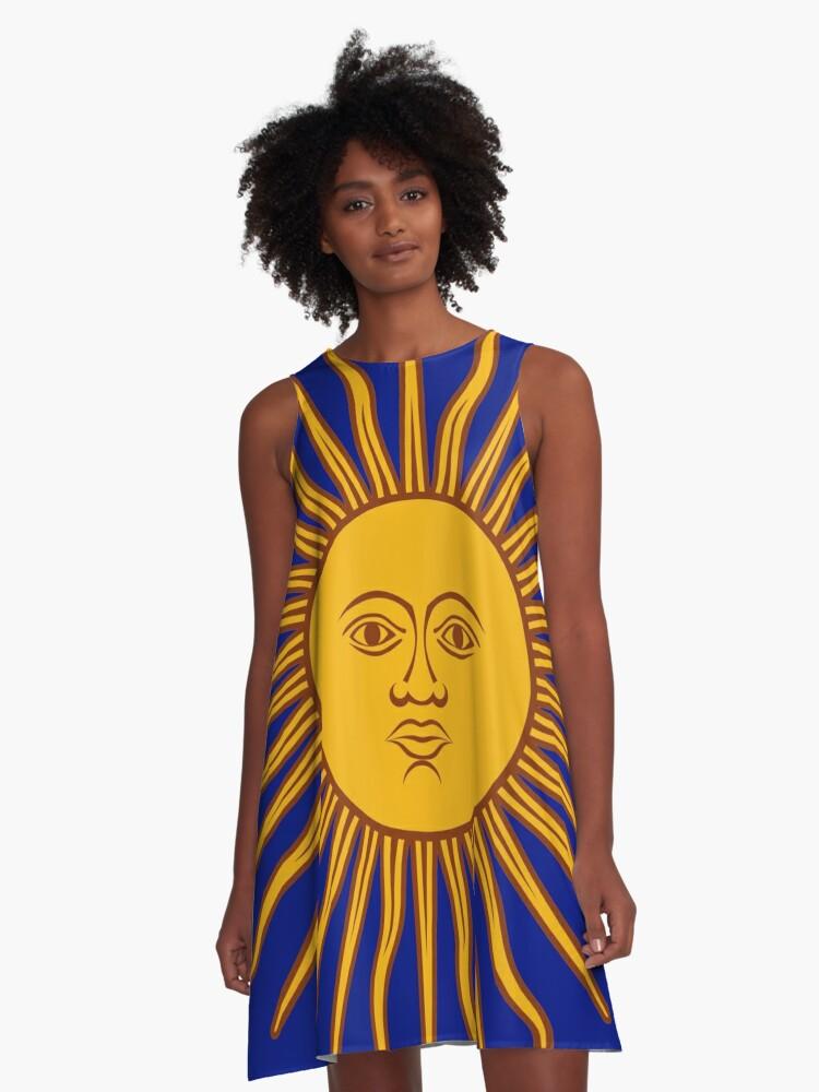 Sun 4. A-Line Dress Front