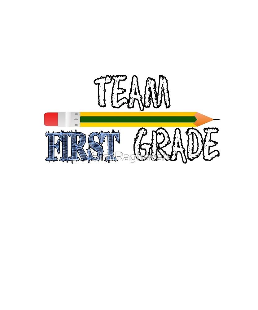 team first grade  by SimiRaghavan