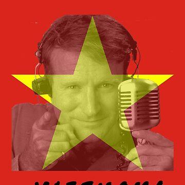 Robin Williams Good Morning Vietnam by Russell1406