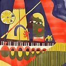 Abstract Piano Bar by tinimalitius