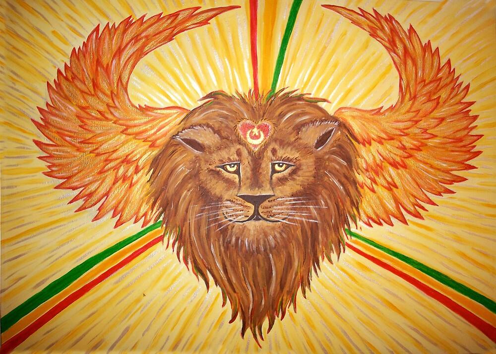Lion heart by khalila friedman
