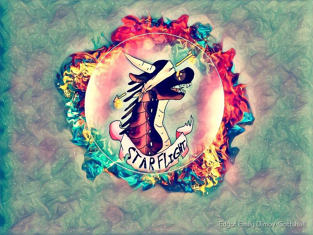 Wings of Fire Dragon Starflight by Edgot Emily Dimov-Gottshall