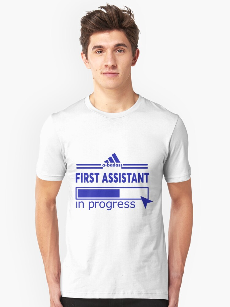 FIRST ASSISTANT Unisex T-Shirt Front