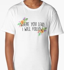 Gilmore Girls - Where you lead Long T-Shirt