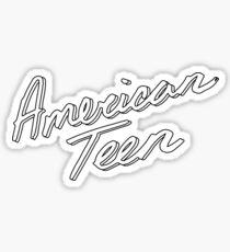 AMERIKANISCHER TEEN-ÜBERSICHT Sticker