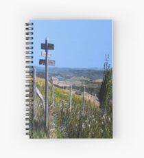 Along The South Downs Way Spiral Notebook