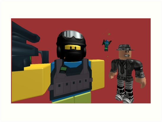 Swat Noob Plain Red Background by furnon10