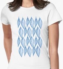 branch bright color blue T-Shirt