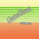Venice Beach, California | Surf Stripes by retroready