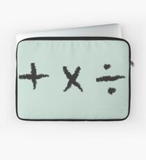 Plus, Multiply, Divide Laptop Sleeve