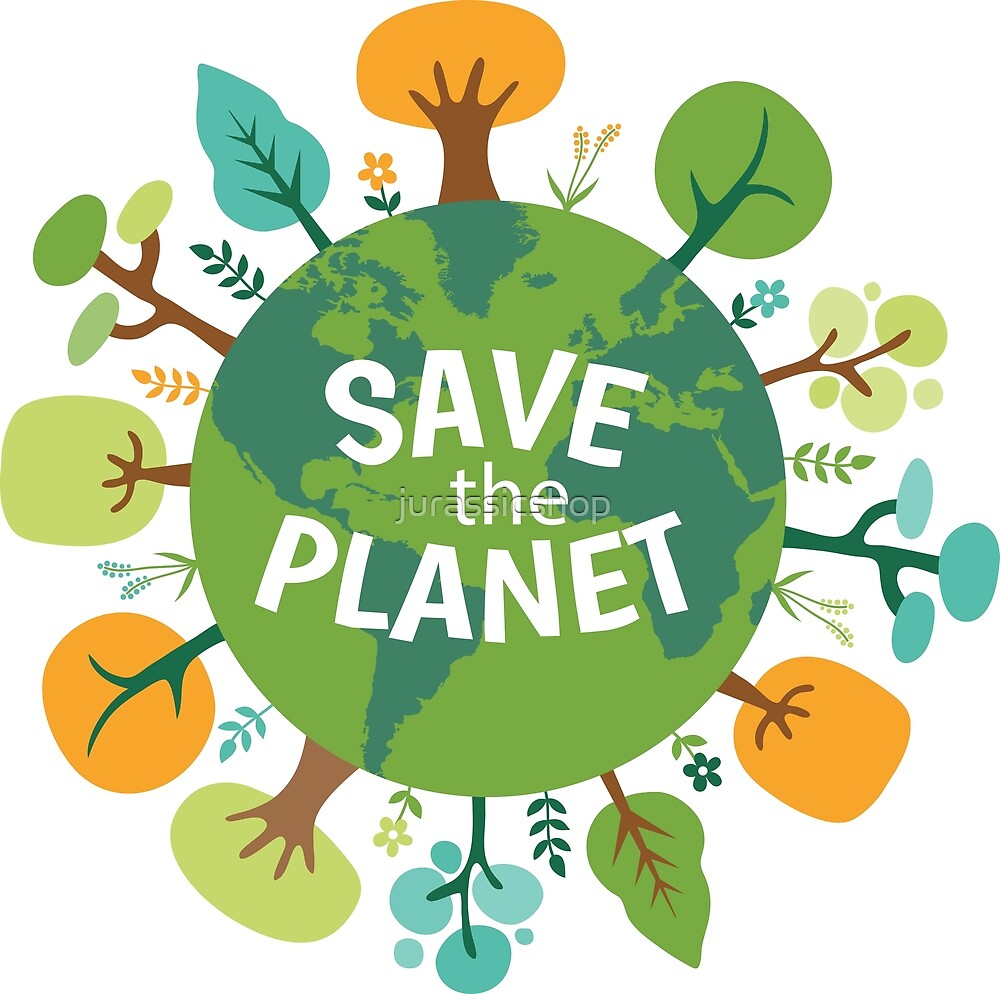 Save The Planet by jurassicshop