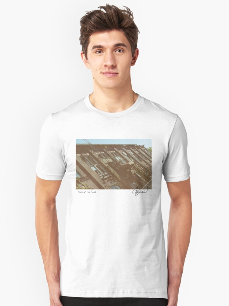 First steps into urbex Unisex T-Shirt Front