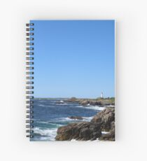Sydney Lighthouse Over the Rocks Spiral Notebook
